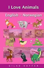 I Love Animals English - Norwegian