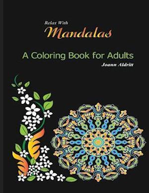 Bog, paperback Relax with Mandalas af Joann Aldritt