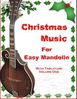Christmas Music for Easy Mandolin with Tablature