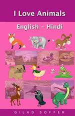 I Love Animals English - Hindi