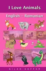 I Love Animals English - Romanian