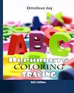 Alphabet Coloring and Tracing af Omolove Jay