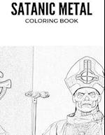 Satanic Metal Coloring Book af Adult Coloring Book, Satanic Metal Coloring Book