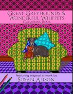 Great Greyhounds & Wonderful Whippets - A Dog Lover's Colouring Book