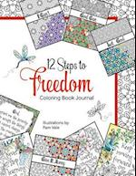 12 Steps to Freedom Coloring Book Journal