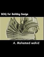 Boq for Building Design