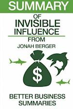 Summary of Invisible Influence