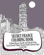 Secret France Coloring Book