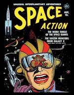 Space Action # 2 af Ace Magazines