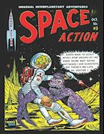 Space Action # 3 af Ace Magazines