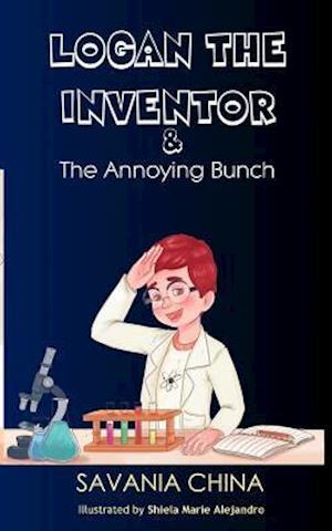 Bog, paperback Logan the Inventor af Savania China