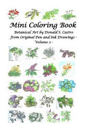 Mini Botanical Art Volume 2