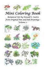 Mini Botanical Art Volume 2 af Donald S. Castro