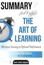 Summary the Art of Learning by Josh Waitzkin