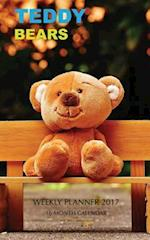 Teddy Bears Weekly Planner 2017