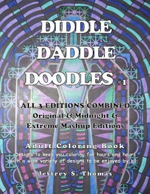 Bog, paperback Diddle Daddle Doodles 1 af Jeffrey S. Thomas