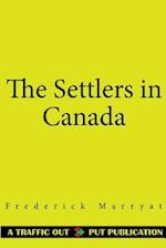 The Settlers in Canada af Frederick Marryat
