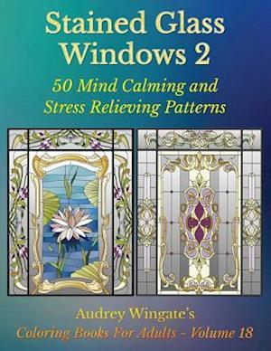 Bog, paperback Stained Glass Windows 2 af Audrey Wingate