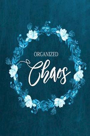Chalkboard Journal - Organized Chaos (Aqua)