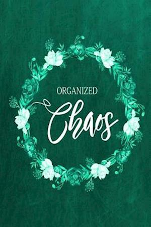 Bog, paperback Chalkboard Journal - Organized Chaos (Green) af Marissa Kent