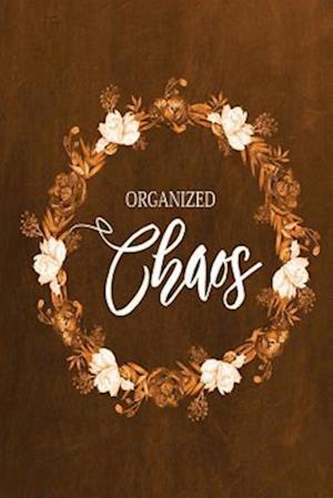 Bog, paperback Chalkboard Journal - Organized Chaos (Orange) af Marissa Kent