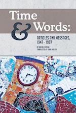 Time and Words