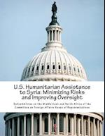 U.S. Humanitarian Assistance to Syria