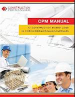 Construction Pro Manager Manual (CPM Manual)