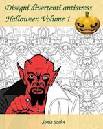 Disegni Divertenti Antistress - Halloween - Volume 1