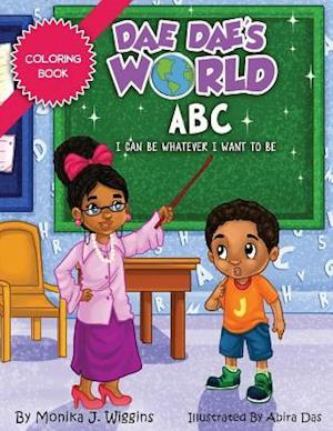 Bog, paperback Dae Dae's World Coloring Book af Monika J. Wiggins