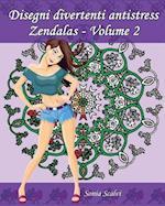 Disegni Divertenti Antistress - Zendalas - Volume 2
