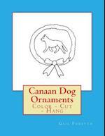 Canaan Dog Ornaments
