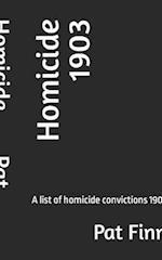 Homicide 1903