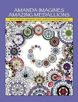 Bog, paperback Amanda Imagines Amazing Medallions af Nic Lee