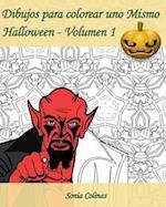 Dibujos Para Colorear Uno Mismo - Halloween - Volumen 1