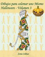 Dibujos Para Colorear Uno Mismo - Halloween - Volumen 3