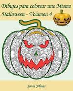 Dibujos Para Colorear Uno Mismo - Halloween - Volumen 4