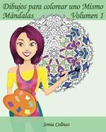 Dibujos Para Colorear Uno Mismo - Mandalas - Volumen 1