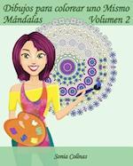 Dibujos Para Colorear Uno Mismo - Mandalas - Volumen 2
