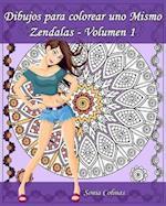 Dibujos Para Colorear Uno Mismo - Zendalas - Volumen 1
