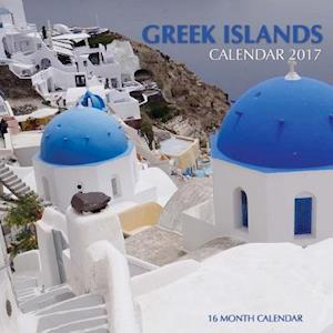 Bog, paperback Greek Islands Calendar 2017 af David Mann