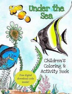 Bog, paperback Under the Sea af Mindy Hoffmann