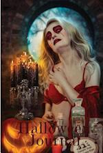 Halloween Journal Writing Red Dress