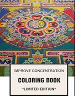 Improve Concentration Coloring Book