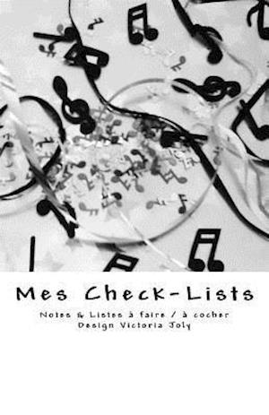 Bog, paperback Mes Check-Lists af Victoria Joly