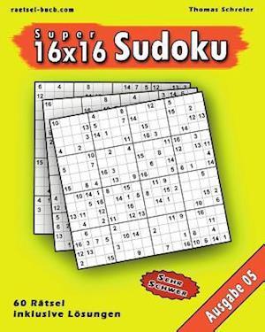 16x16 Super-Sudoku Ausgabe 05