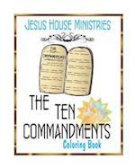 Ten Commandments Adult Coloring Book af Kim Holmes