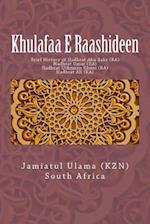 Khulafaa E Raashideen af Jamiatul Ulama South Africa