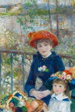 Pierre-Auguste Renoir's 'The Two Sisters, on the Terrace' Art of Life Journal (L af Ted E. Bear Press