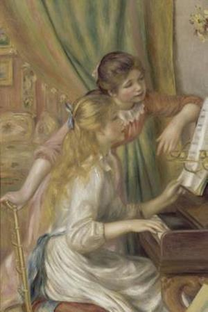 Bog, paperback Pierre-Auguste Renoir's 'Young Girls at the Piano' Art of Life Journal (Lined) af Ted E. Bear Press